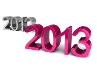 Νέο έτος 2013 Στοκ εικόνες με δικαίωμα ελεύθερης χρήσης