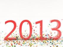 Νέο έτος 2013 Στοκ φωτογραφία με δικαίωμα ελεύθερης χρήσης