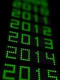 Νέο έτος 2014 στοκ εικόνα με δικαίωμα ελεύθερης χρήσης