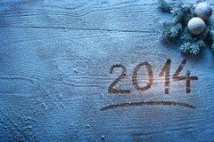 Νέο έτος 2014. Στοκ Εικόνες