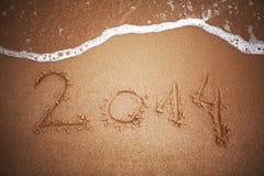 Νέο έτος 2014 Στοκ Φωτογραφίες