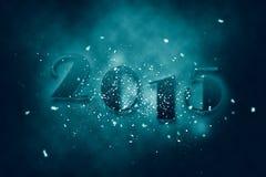 2015 νέο έτος Στοκ Εικόνες