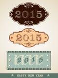 Νέο έτος 2015 Στοκ Εικόνες