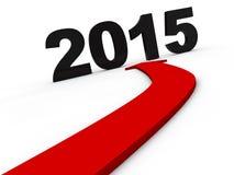 Νέο έτος 2015 Στοκ Φωτογραφία