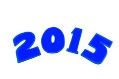 Νέο έτος 2015 Στοκ εικόνες με δικαίωμα ελεύθερης χρήσης