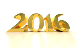 Νέο έτος 2016 Στοκ Φωτογραφία