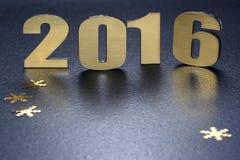 Νέο έτος 2016 Στοκ Εικόνες