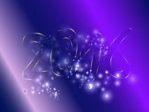 Νέο έτος 2016 Στοκ Φωτογραφίες