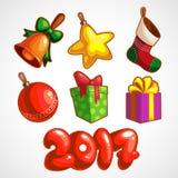 νέο έτος Στοκ εικόνα με δικαίωμα ελεύθερης χρήσης