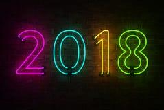 Νέο έτος 2018 Στοκ φωτογραφίες με δικαίωμα ελεύθερης χρήσης