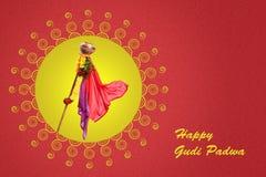 Νέο έτος Padwa Marathi Gudi