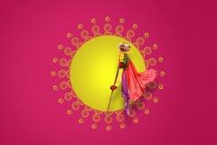 Νέο έτος Padwa Marathi Gudi Στοκ φωτογραφία με δικαίωμα ελεύθερης χρήσης