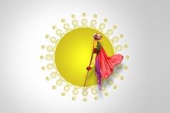 Νέο έτος Padwa Marathi Gudi Στοκ Εικόνα