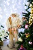νέο έτος santa Στοκ Εικόνες