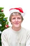 νέο έτος santa Claus Στοκ Φωτογραφίες