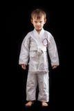 Νέο αγόρι στο κιμονό Στοκ εικόνα με δικαίωμα ελεύθερης χρήσης