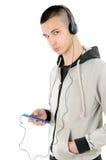 Νέο αγόρι τεχνολογικό Στοκ φωτογραφία με δικαίωμα ελεύθερης χρήσης