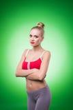 Νέο αθλητικό προκλητικό κορίτσι στοκ φωτογραφίες με δικαίωμα ελεύθερης χρήσης