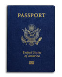 Νέο αμερικανικό διαβατήριο Στοκ Φωτογραφίες