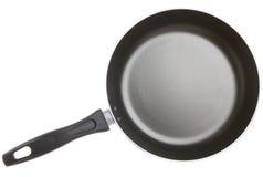 Νέο αντικολλητικό τηγανίζοντας τηγάνι που απομονώνεται Στοκ Εικόνες