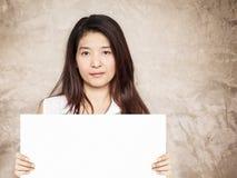 Νέο ασιατικό κενό σημάδι εκμετάλλευσης γυναικών Στοκ Εικόνες