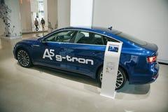 Νέο αυτοκίνητο Audi A5 γ -γ-tron στοκ φωτογραφίες με δικαίωμα ελεύθερης χρήσης