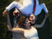 Νέο γαμήλιο ζεύγος της Νίκαιας στοκ φωτογραφία