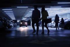 Νέο γκαράζ χώρων στάθμευσης Στοκ Φωτογραφίες