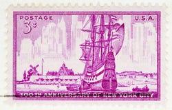 νέο γραμματόσημο Υόρκη πόλ&epsilon Στοκ Φωτογραφίες