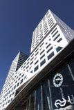 Νέο γραφείο Ουτρέχτη πόλεων επάνω από την είσοδο στο κεντρικό statio σιδηροδρόμων Στοκ Φωτογραφίες