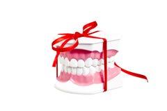 Νέο δώρο χαμόγελου στοκ φωτογραφία