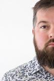 Νέο ενήλικο αρσενικό στο πουκάμισο Στοκ εικόνα με δικαίωμα ελεύθερης χρήσης