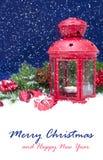 νέο επάνω έτος διακοσμήσεων Χριστουγέννων στενό Στοκ φωτογραφία με δικαίωμα ελεύθερης χρήσης