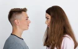 Νέο εφηβικό ζεύγος, στοκ εικόνες με δικαίωμα ελεύθερης χρήσης