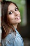 Νέο θηλυκό υπαίθρια Στοκ εικόνες με δικαίωμα ελεύθερης χρήσης