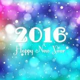 Νέο θολωμένο έτος υπόβαθρο Στοκ Εικόνα