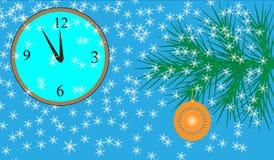 νέο διανυσματικό έτος Στοκ εικόνες με δικαίωμα ελεύθερης χρήσης