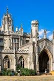 Νέο δικαστήριο του κολλεγίου του ST John ` s στο Πανεπιστήμιο του Κέιμπριτζ Cambridg στοκ εικόνες με δικαίωμα ελεύθερης χρήσης