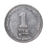 Νέο ισραηλινό Shekel Στοκ Εικόνα