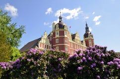 Νέο κάστρο σε κακό Muskau Στοκ Φωτογραφία