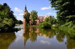 Νέο κάστρο σε κακό Muskau Στοκ εικόνες με δικαίωμα ελεύθερης χρήσης