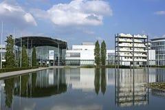 Νέο κέντρο εμπορικών εκθέσεων του Μόναχου σε Muenchen Riem Στοκ Φωτογραφίες