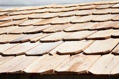 νέο κεραμίδι στεγών ξύλινο Στοκ Εικόνες