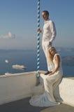 Νέο κομψό γαμήλιο ζεύγος στοκ εικόνες με δικαίωμα ελεύθερης χρήσης