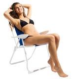 Νέο κορίτσι bikini Στοκ φωτογραφία με δικαίωμα ελεύθερης χρήσης