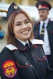 Νέο κορίτσι cossack στοκ εικόνες με δικαίωμα ελεύθερης χρήσης