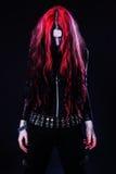 Νέο κορίτσι goth Στοκ Εικόνες