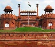 νέο κόκκινο της Ινδίας οχ&upsil Στοκ Εικόνες