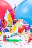 Νέο κόμμα, εορτασμός ή εορτασμός έτους Στοκ Εικόνες