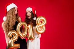 Νέο κόμμα φίλων ` s έτους 2018 Στοκ Εικόνες
